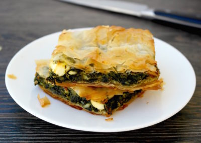 Greek Spinach and Feta Pie – Spanakopita