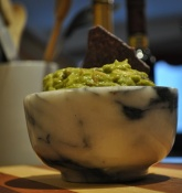 Guacamole w/Persian Lime Infused EVOO
