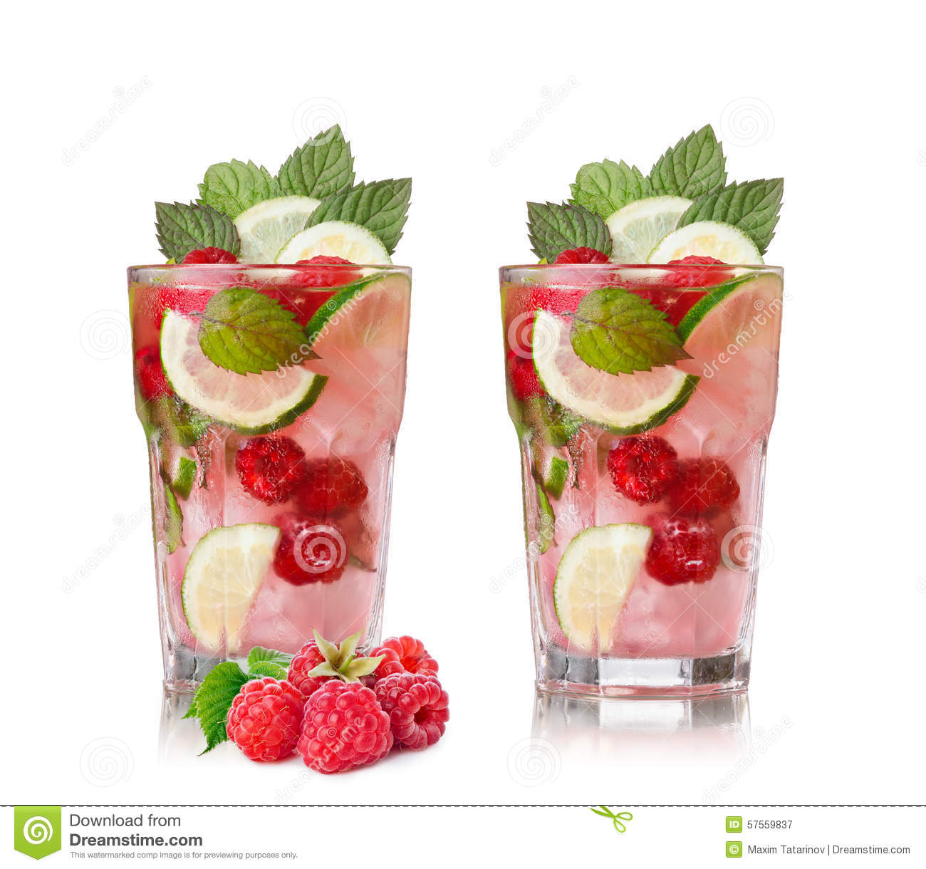 Mojito with Cascadian White Raspberry Balsamic