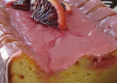 Blood Orange Yogurt Olive Oil Cake
