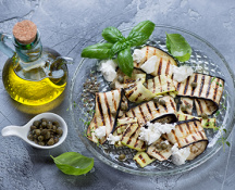 Grilled Eggplant with Oregano White Balsamic
