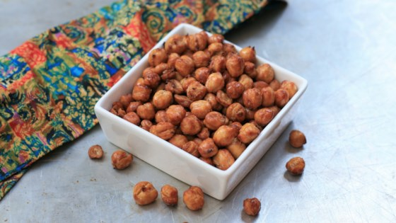 Air Fryer Salt and Vinegar Chickpeas